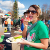 "Kayla Hajdukovich eats watermelon at the Spring Fest kick off barbeque on campus in front of the Wood Center.  <div class=""ss-paypal-button"">Filename: LIF-12-3375-28.jpg</div><div class=""ss-paypal-button-end"" style=""""></div>"