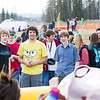 "Students watch the mechanical salmon during the 2012 Spring Fest field day activities.  <div class=""ss-paypal-button"">Filename: LIF-12-3384-254.jpg</div><div class=""ss-paypal-button-end"" style=""""></div>"
