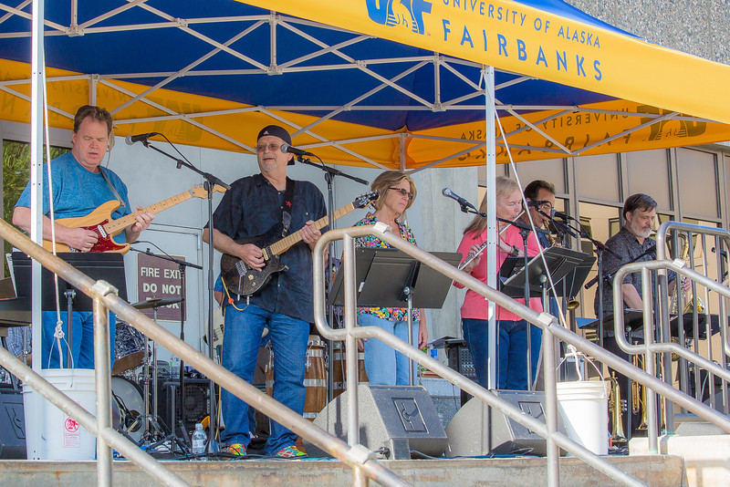 """The Glass Bead Game, a popular rock 'n roll band in Fairbanks from the early 1970s, met for a free reunion concert in front of the Rasmuson Library on the Fairbanks campus in July, 2012.  <div class=""""ss-paypal-button"""">Filename: LIF-12-3462-035.jpg</div><div class=""""ss-paypal-button-end"""" style=""""""""></div>"""