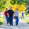 "Jacob Monagle and Lindy Olmstead walk up the hill after lunch in the Commons on a beautiful September afternoon on the Fairbanks campus. Monagle is a senior majoring in electrical engineering. Olmstead is studying to become a nurse.  <div class=""ss-paypal-button"">Filename: LIF-13-3934-129.jpg</div><div class=""ss-paypal-button-end"" style=""""></div>"