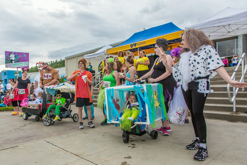 "The costume contest is one of the popular attractions at the annual Midnight Sun Run, which starts on the UAF campus every year on the Saturday nearest the summer solstice.  <div class=""ss-paypal-button"">Filename: LIF-14-4220-013.jpg</div><div class=""ss-paypal-button-end""></div>"
