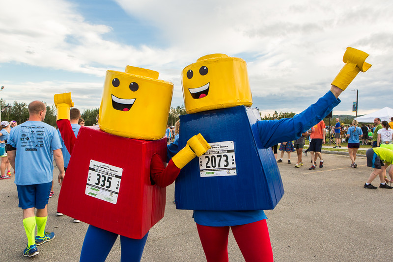 """Participants in the 2016 Midnight Sun Run dress up in costume for the popular event near the summer solstice.  <div class=""""ss-paypal-button"""">Filename: LIF-16-4918-78.jpg</div><div class=""""ss-paypal-button-end""""></div>"""