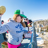 """Nanook Traditions board member Katie Griffin chucks a rotten cantelope from high atop the Gruening Building during the traditional Fruit Drop which officially starts SpringFest on the Fairbanks campus.  <div class=""""ss-paypal-button"""">Filename: LIF-13-3801-35.jpg</div><div class=""""ss-paypal-button-end"""" style=""""""""></div>"""