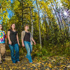 "Grace Amundsen, left, Lily Grbavach, center, and Kaylie Wiltersen stroll through the woods near the west entrance to campus on a nice fall afternoon.  <div class=""ss-paypal-button"">Filename: LIF-12-3544-086.jpg</div><div class=""ss-paypal-button-end"" style=""""></div>"