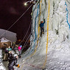 "A climber makes hiw way up the tower during the ice climbing competition, offered as part of the 2014 UAF Winter Carnival.  <div class=""ss-paypal-button"">Filename: LIF-14-4084-61.jpg</div><div class=""ss-paypal-button-end"" style=""""></div>"