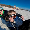 "Jimmy Donohue (back) and Bryan Johnson (front) go sledding on a sunny day in February.  <div class=""ss-paypal-button"">Filename: LIF-12-3289-57.jpg</div><div class=""ss-paypal-button-end"" style=""""></div>"
