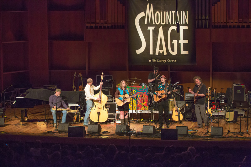 """The Fairbanks band Steve Brown and the Bailers performed during one of two live recorded performances of the nationally broadcast radio show Mountain Stage in the Davis Concert Hall Aug. 17 and 18. The shows were sponsored by UAF Summer Sessions and KUAC-FM.  <div class=""""ss-paypal-button"""">Filename: LIF-12-3502-058.jpg</div><div class=""""ss-paypal-button-end"""" style=""""""""></div>"""