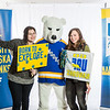 "Future UAF students and family members pose with the Nanook mascot during Inside Out.  <div class=""ss-paypal-button"">Filename: LIF-16-4839-36.jpg</div><div class=""ss-paypal-button-end""></div>"
