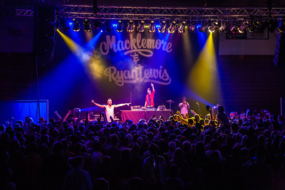 A packed house filled the Patty Center Friday night for the Macklemore concert hosted by the Student Activities office during Springfest!  Filename: LIF-12-3380-136.jpg