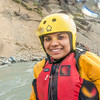 "International student Neha Agrawal joined UAF Outdoor Adventures on a raft trip down the Nenana River in June, 2014.  <div class=""ss-paypal-button"">Filename: OUT-14-4211-331.jpg</div><div class=""ss-paypal-button-end""></div>"