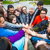 "UAF Orientation Leaders engage in team building exercises before students arrive on campus before the start of the fall 2015 semester.  <div class=""ss-paypal-button"">Filename: LIF-15-4635-061.jpg</div><div class=""ss-paypal-button-end""></div>"