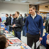 "Geology student David Durst, speaks to potential summer internship opportunities at the Student Job and Internship Fair provided by UAF Career Services.  <div class=""ss-paypal-button"">Filename: LIF-13-3745-1.jpg</div><div class=""ss-paypal-button-end"" style=""""></div>"