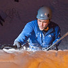 """Students try out the conditions during an open house on UAF's new outdoor ice climbing wall.  <div class=""""ss-paypal-button"""">Filename: LIF-12-3301-019.jpg</div><div class=""""ss-paypal-button-end"""" style=""""""""></div>"""