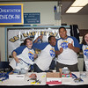 "Orientation Leaders pose for a portrait at the Check-In station Sunday, August 26, 2012 during Move-In Day at the Moore, Bartlett, Skarland dormitory complex.  <div class=""ss-paypal-button"">Filename: LIF-12-3511-173.jpg</div><div class=""ss-paypal-button-end"" style=""""></div>"