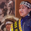 "Miss Indian World Marjorie Tahbone was the emcee on the opening night of the Festival of Native Arts.  <div class=""ss-paypal-button"">Filename: LIF-12-3310-17.jpg</div><div class=""ss-paypal-button-end"" style=""""></div>"