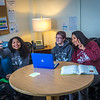 "Undergraduates Kisha Lee, left, Michaela Lockes and Dyane Chung take a group selfie from the student lounge at UAF's Kuskokwim Campus in Bethel.  <div class=""ss-paypal-button"">Filename: LIF-16-4859-138.jpg</div><div class=""ss-paypal-button-end""></div>"