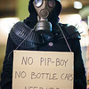 """Hannah Tallan dresses as a post-apocalyptical hobo at the 2012 annual Pop Con event at the Wood Center Nov. 2012.  <div class=""""ss-paypal-button"""">Filename: LIF-12-3640-35.jpg</div><div class=""""ss-paypal-button-end"""" style=""""""""></div>"""