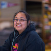 "Theresa Hooper, a freshman from Tununak, relaxes after class in the Sacket Hall dining room on UAF's Kuskokwim Campus in Bethel.  <div class=""ss-paypal-button"">Filename: LIF-16-4859-026.jpg</div><div class=""ss-paypal-button-end""></div>"