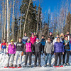 "Participants in the second annual Troth Yeddha' Snowshoe Run line up for a group photo after the race Saturday, March 1 by the Reichardt Building. The event hopes to build awarness for a proposed park to help celebrate Alaska's Native culture.  <div class=""ss-paypal-button"">Filename: LIF-14-4079-87.jpg</div><div class=""ss-paypal-button-end"" style=""""></div>"