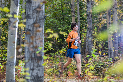 Sam Herreid flies through the trails of the 50th Annual Equinox Marathon, Saturday, September 15, 2012.  Filename: LIF-12-3553-133.jpg