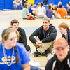 """Students share their stories with one another at the last event of New Student Orientation at the Student Rec. Center.  <div class=""""ss-paypal-button"""">Filename: LIF-13-3924-172.jpg</div><div class=""""ss-paypal-button-end"""" style=""""""""></div>"""