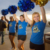 "The UAF cheerleaders drum up excitement before the annual Blue/Gold hockey game held in the Patty Ice Arena Sept. 29.  <div class=""ss-paypal-button"">Filename: LIF-12-3570-079.jpg</div><div class=""ss-paypal-button-end"" style=""""></div>"