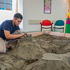 "Luis Arauz participated in a promotional sand castle building competition during the spring semester in the Lola Tilly Commons.  <div class=""ss-paypal-button"">Filename: LIF-12-3329-45.jpg</div><div class=""ss-paypal-button-end"" style=""""></div>"