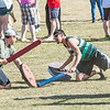 "Participants had to battle on their knees for one of the events that took place during SpringFest Field Day April 28.  <div class=""ss-paypal-button"">Filename: LIF-14-4168-152.jpg</div><div class=""ss-paypal-button-end""></div>"