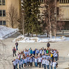 "Staff, faculty and students from UAF's School of Education form a human ribbon on a campus sidewalk to draw attention during National Autism Awareness week.  <div class=""ss-paypal-button"">Filename: LIF-13-3776-12.jpg</div><div class=""ss-paypal-button-end"" style=""""></div>"