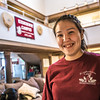 "Larissa Flynn from Chefornak relaxes after class in the Sacket Hall dining room on UAF's Kuskokwim Campus in Bethel.  <div class=""ss-paypal-button"">Filename: LIF-16-4859-546.jpg</div><div class=""ss-paypal-button-end""></div>"