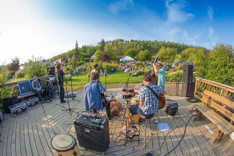 "The local Fairbanks band Zingaro Roots performed before an appreciative audience during one of the Concert in the Garden events sponsored by UAF Summer Sessions.  <div class=""ss-paypal-button"">Filename: LIF-12-3489-047.jpg</div><div class=""ss-paypal-button-end"" style=""""></div>"