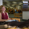 "Music education major Anna Polum finds a comfortable spot to study in the Rasmuson Library.  <div class=""ss-paypal-button"">Filename: LIF-13-3950-77.jpg</div><div class=""ss-paypal-button-end"" style=""""></div>"