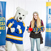 "Future UAF students and family members pose with the Nanook mascot during Inside Out.  <div class=""ss-paypal-button"">Filename: LIF-16-4839-80.jpg</div><div class=""ss-paypal-button-end""></div>"