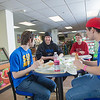 "Students Quinn Verfaillie, left, and Robert Doerning enjoy sandwiches in the Campus Cache, located in the Moore-Bartlett-Skarland residence hall complex on the Fairbanks campus.  <div class=""ss-paypal-button"">Filename: LIF-12-3339-40.jpg</div><div class=""ss-paypal-button-end"" style=""""></div>"