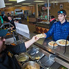 "Quinn Verfaillie gets a plate of pasta during a lunch break in the Lola Tilly Commons.  <div class=""ss-paypal-button"">Filename: LIF-11-3220-011.jpg</div><div class=""ss-paypal-button-end"" style=""""></div>"