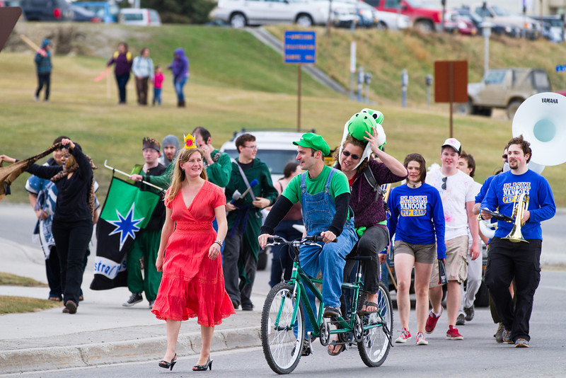 """The Club Karneval Parade marched around campus from Reichardt building to the Nenana Parking Lot during the 2012 Spring Fest activities.  <div class=""""ss-paypal-button"""">Filename: LIF-12-3384-122.jpg</div><div class=""""ss-paypal-button-end"""" style=""""""""></div>"""