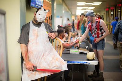UAF ResLife hosts their annual Halloween dance at the HesRec Center.  Filename: LIF-14-4367-19.jpg