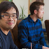 "Tachit Chairat and Joe Hunner hang out with friends at the Wood Center lounge.  <div class=""ss-paypal-button"">Filename: LIF-11-3190-189.jpg</div><div class=""ss-paypal-button-end"" style=""""></div>"