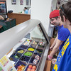 "Students Quinn Verfaillie, right, and Robert Doerning enjoy sandwiches in the Campus Cache, located in the Moore-Bartlett-Skarland residence hall complex on the Fairbanks campus.  <div class=""ss-paypal-button"">Filename: LIF-12-3339-20.jpg</div><div class=""ss-paypal-button-end"" style=""""></div>"
