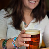 "Senior Kelley Ryan unwinds after a week of classes with a cold beer in UAF's Wood Center Pub.  <div class=""ss-paypal-button"">Filename: LIF-11-3217-031.jpg</div><div class=""ss-paypal-button-end"" style=""""></div>"