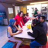 "Students relax after a day of classes in the Sacket Hall dining room on UAF's Kuskokwim Campus in Bethel.  <div class=""ss-paypal-button"">Filename: LIF-16-4859-501-2.jpg</div><div class=""ss-paypal-button-end""></div>"