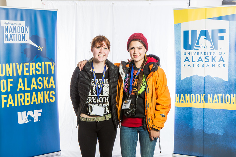 """Future UAF students and family members pose during Inside Out.  <div class=""""ss-paypal-button"""">Filename: LIF-16-4839-16.jpg</div><div class=""""ss-paypal-button-end""""></div>"""