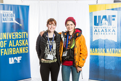 Future UAF students and family members pose during Inside Out.  Filename: LIF-16-4839-16.jpg