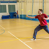 "Intramural badminton action on a Tuesday night at the Student Recreation Center.  <div class=""ss-paypal-button"">Filename: LIF-14-4111-132.jpg</div><div class=""ss-paypal-button-end"" style=""""></div>"