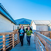 "Students Alyssa Wols, left, and Marjorie Tahbone walk between buildings at UAF's Northwest Campus in Nome.  <div class=""ss-paypal-button"">Filename: LIF-16-4865-197.jpg</div><div class=""ss-paypal-button-end""></div>"