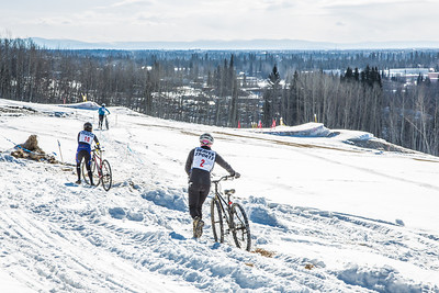 Photos from the inaugural cross country bicycle race during the 2013 Springfest on the Fairbanks campus.  Filename: LIF-13-3804-56.jpg