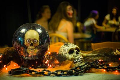 UAF ResLife hosts their annual Halloween dance at the HesRec Center.  Filename: LIF-14-4367-24.jpg
