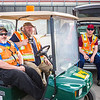 """Facilities Services staff sit in the sidelines during the 2016 Really Free Market on the Fairbanks campus.  <div class=""""ss-paypal-button"""">Filename: LIF-16-4909-2.jpg</div><div class=""""ss-paypal-button-end""""></div>"""