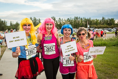 Participants in the 2016 Midnight Sun Run dress up in costume for the popular event near the summer solstice.  Filename: LIF-16-4918-81.jpg