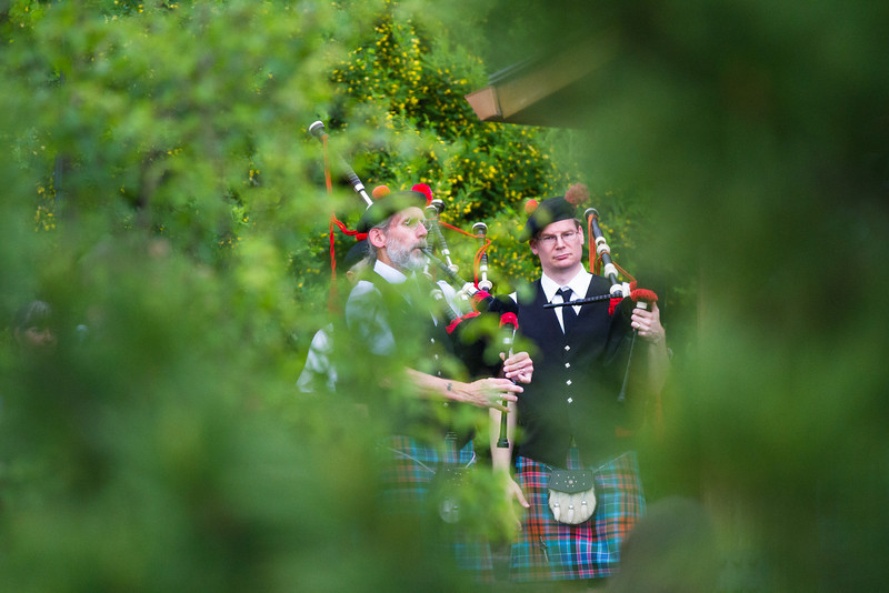 """Fairbanks Red Hackle Pipe Band kicks off Summer Sessions' Music in the Garden series at the Georgeson Botanical Garden.  <div class=""""ss-paypal-button"""">Filename: LIF-12-3426-2.jpg</div><div class=""""ss-paypal-button-end"""" style=""""""""></div>"""